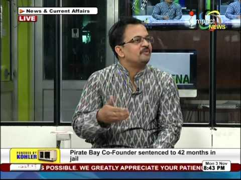 Debate on AFSPA at Impact TV News
