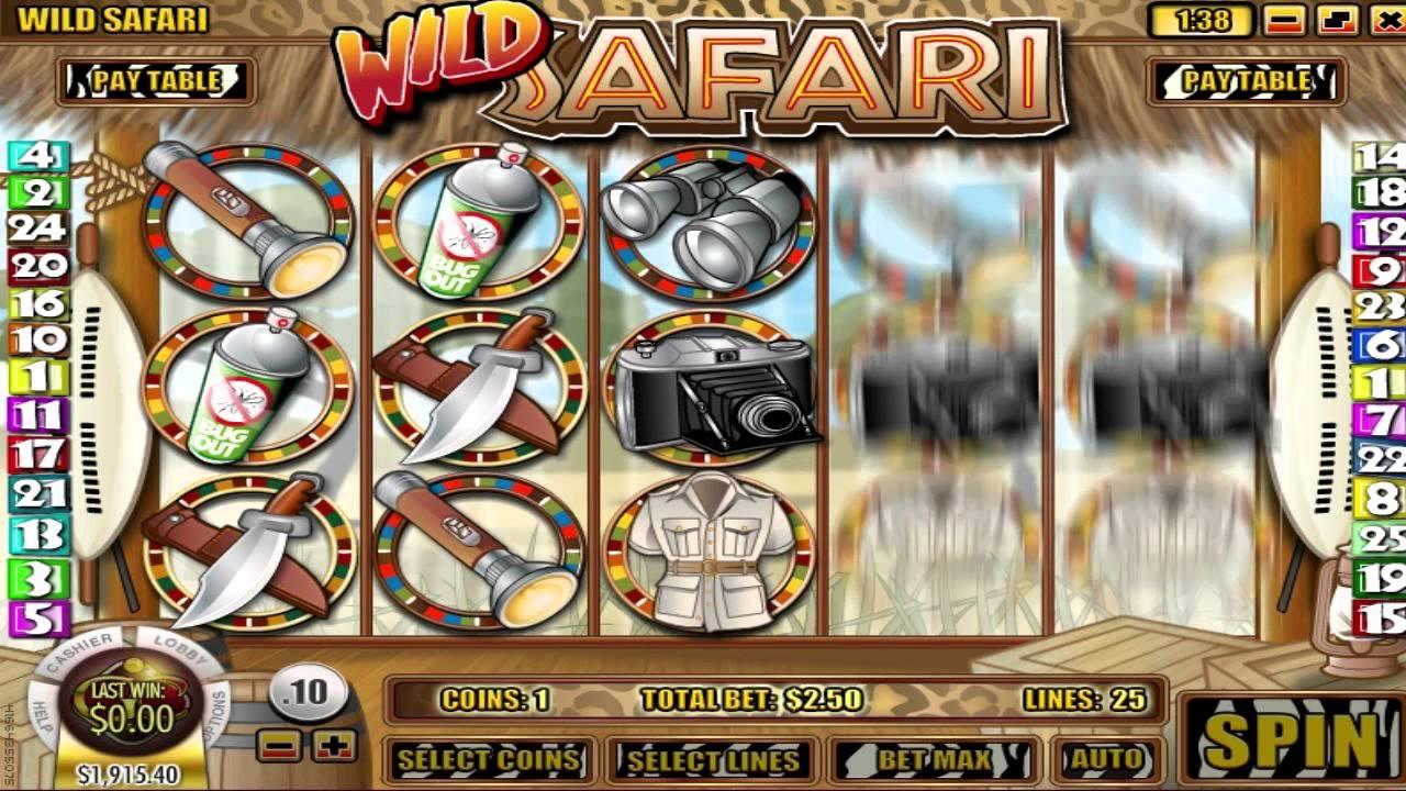 Wild Safari Slot Machine