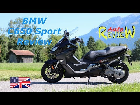 2017 BMW C650 Sport | AutoReview | Switzerland Episode 10 [ENG]