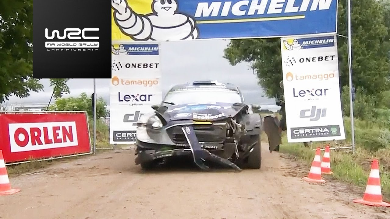 WRC - ORLEN 74th Rally Poland 2017: Highlights Stages 18-21