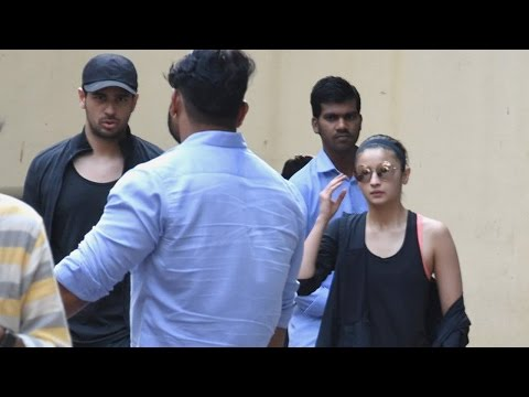 SPOTTED: Sidharth and Alia Together at Vishesh  Films Office | SpotboyE