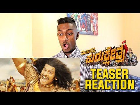 Kurukshetra Teaser Reaction & Review | Nikhil Kumar, Darshan | PESH Entertainment