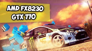 AMD FX 8320 + GTX 770: Dirt Showdown (ULTRA SETTINGS / УЛЬТРА НАЛАШТУВАННЯ)