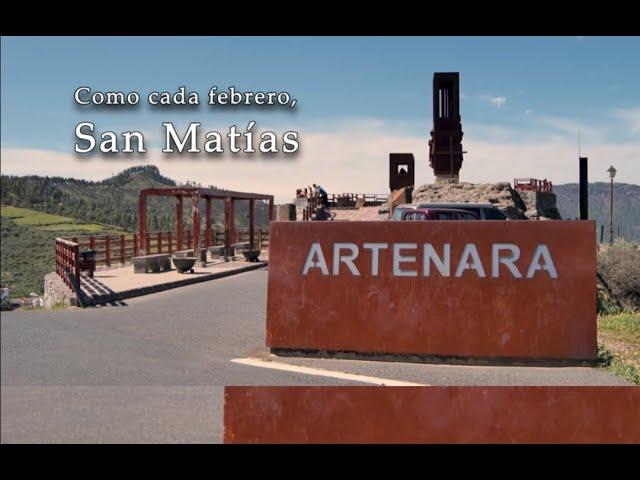 Como cada febrero, San Matías, Artenara. Febrero 2021
