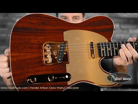 Fender Artisan Claro Walnut Telecaster