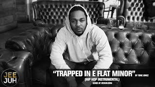 "Kendrick Lamar Type Beat ""Trapped In E Flat Minor"" | Jazz Rap Instrumental | Hip Hop Beats 2017"