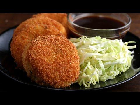 Japanese-Style Ham & Cheese Croquettes (Korokke)