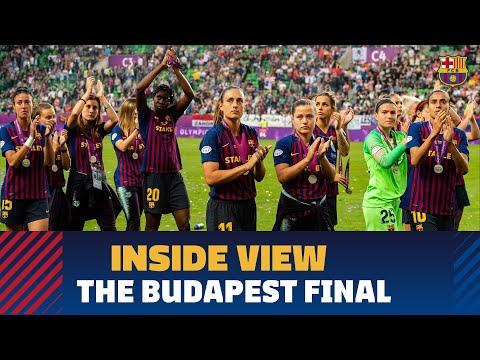 [BEHIND THE SCENES] Barça-Lyon UWCL final from the inside