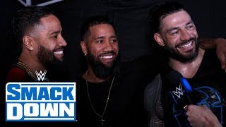 The Usos celebrate return with Roman Reigns: SmackDown Exclusive, Jan. 3, 2020
