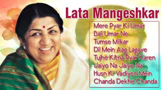 Magic of Lata Mangeshkar   Superhit Bollywood Songs   Hindi Romantic Love Song