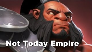 Not Today Empire MLG Dota 2