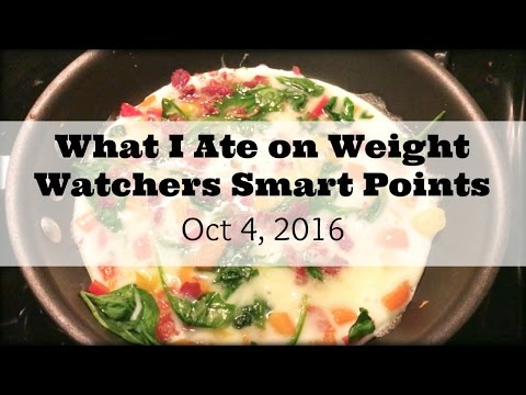 What I Eat On Weight Watcher Smart Points/ Vlogtober?? | Oct 4, 2016