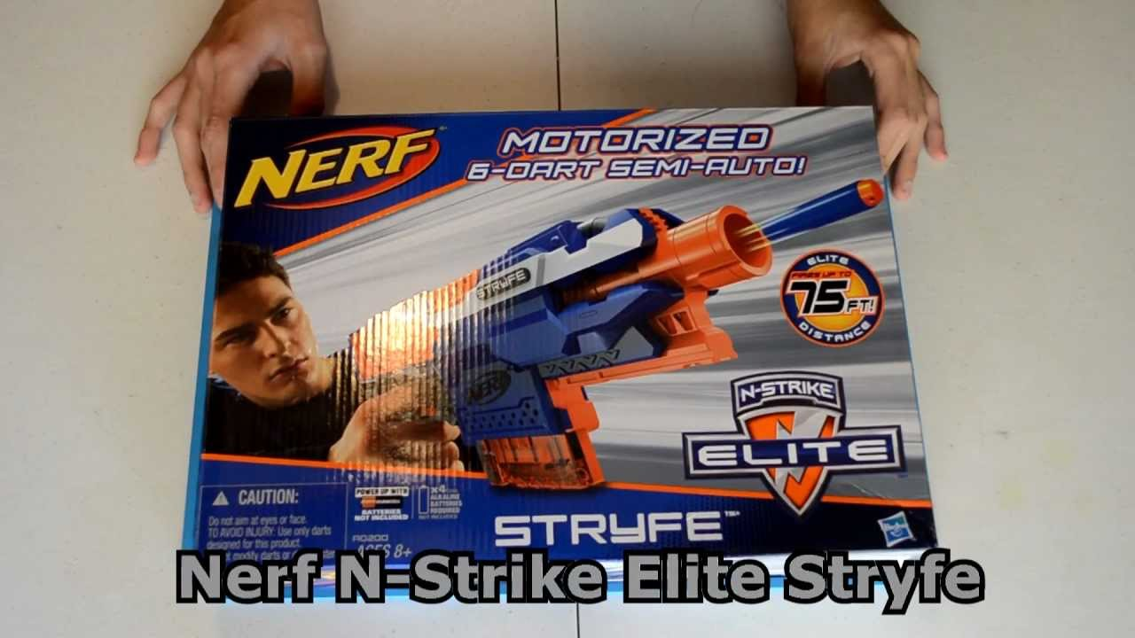 nerf n strike elite stryfe how to use