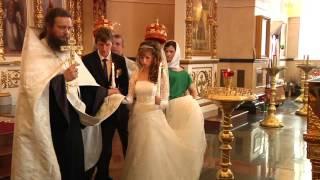 православная свадьба Вячеслав и Анастасия
