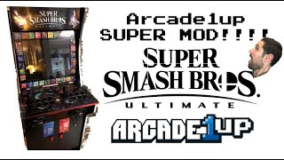 Arcade1up Super Smash Bros Ultimate Mod!