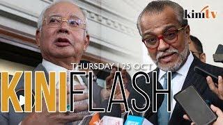 Shafee calls RM6.6b CBT charge against Najib 'foolish' | KiniFlash - 25 Oct
