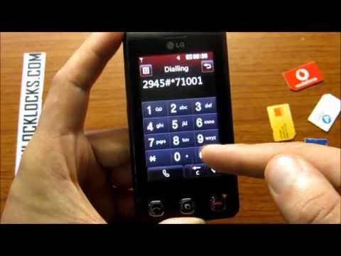 How To Unlock LG Cookie KP505 By Unlock Code From UnlockLocks.COM