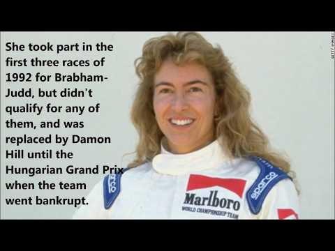 FORMULA 1. WOMEN DRIVERS THROUGHOUT HISTORY