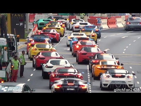 Supercar Traffic Jam Singapore - Scuderia FSG