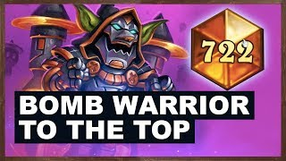 BOMB Warrior To The Top | Rise of Shadows | Hearthstone