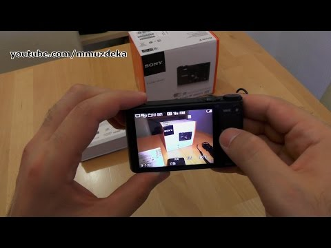 Sony Cyber-shot DSC-WX350 unboxing and short review