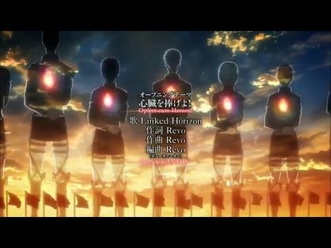 Shingeki no kyojin season 2 opening