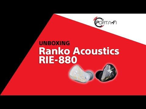 Ranko Acoustics RIE-880 Unboxing   Porta-Fi™