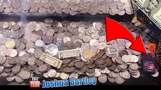 How to Triple Your Profit on Coin Pusher! Can I Win The Stuck Zippo??
