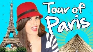 PARIS Travel- Eiffel Tower, Sidewalk Cafes & Subway Fun