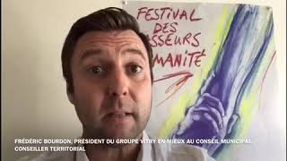 Frédéric Bourdon, président du groupe Changeons Vitry en Mieux, conseiller communautaire