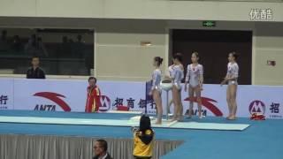 谭佳薪 Tan Jiaxin VT PT 2016 CHN Nationals Hefei