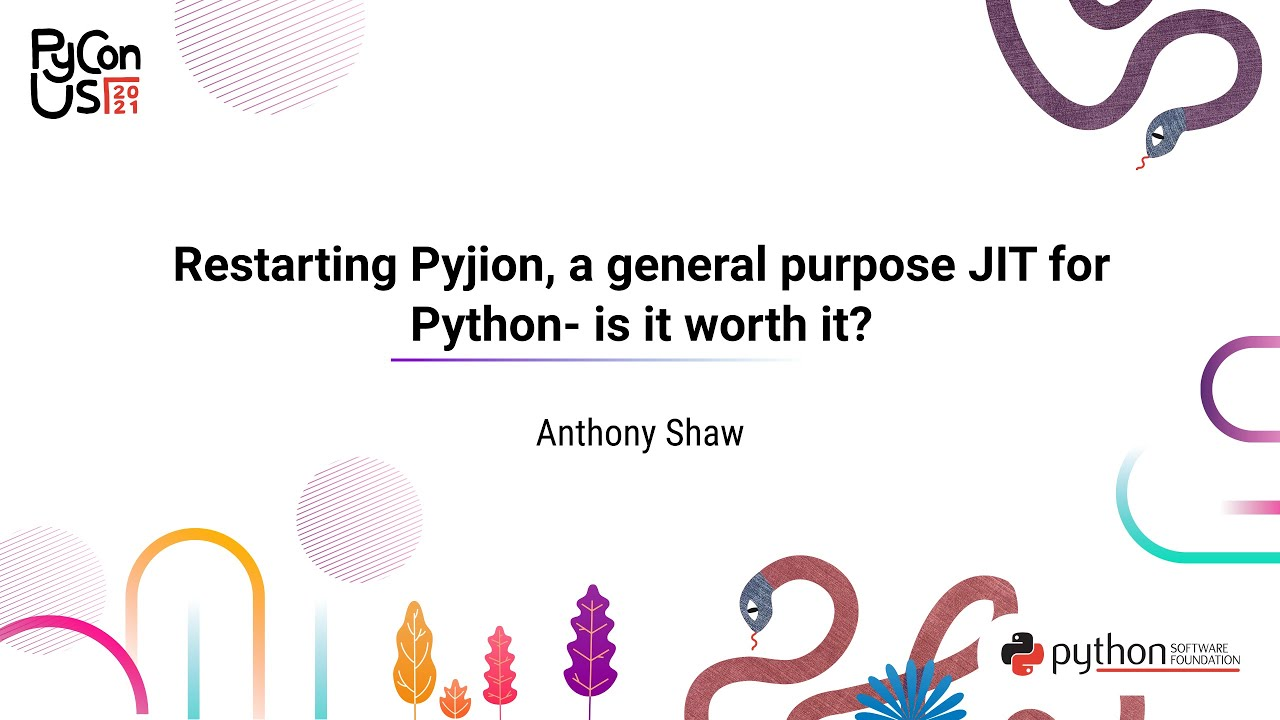 Image from Restarting Pyjion, a general purpose JIT for Python- is it worth it?