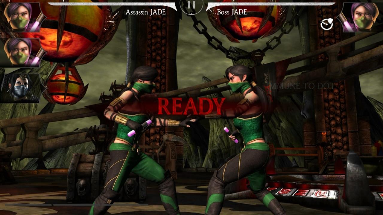 Mortal Kombat X Mobile 1 13 Update/ Assassin Jade Challenge Boss Battle