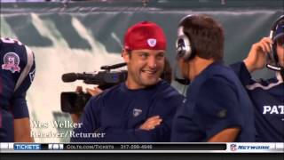 Bill taking a jab at Wes on the sidelines
