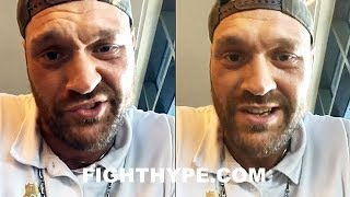 """TYSON FURY ERUPTS ON TONY BELLEW; CHANGES MIND AND THREATENS """"PRICK"""" TO """"GET IT IF YOU WANT IT"""""""