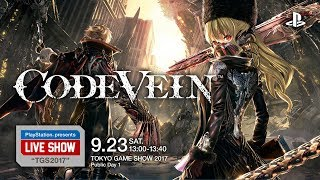 "PlayStation® presents LIVE SHOW ""TGS2017""『CODE VEIN』 MC:松嶋初音..."