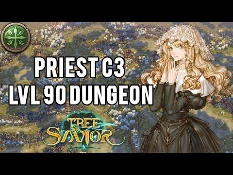 Tree of Savior | Priest C3 Level 90 Dungeon Full Run