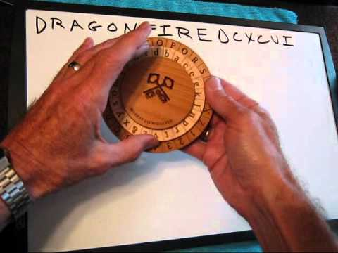 How to Use the Alberti Cipher Disk device with Method 2