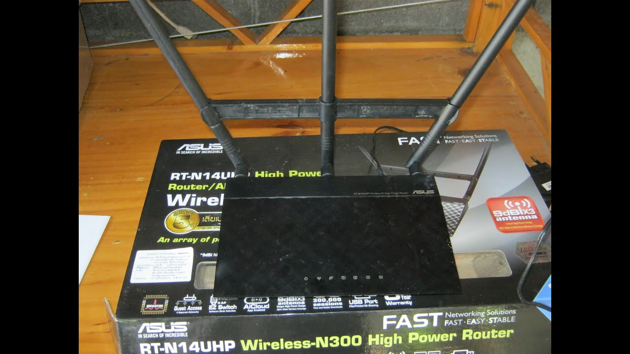 Asus Router Rt N14uhp Wireless 3bb Ac55uhp Dual Band High Power Ac 1200 Mbps