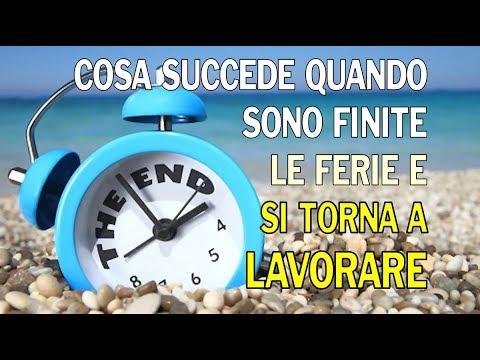 Famoso RITORNO AL LAVORO - Inizio settimana - start week ! - YouTube OQ18
