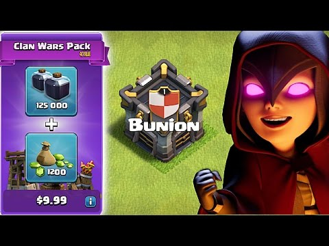 FREE CLAN GEMS UPDATE & MORE!!😀NEW BUNION TEAM CLAN!!😀Clash Of Clans