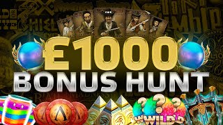 Online Slots Compilation! £1000 Bonus Hunt With Jimbo!