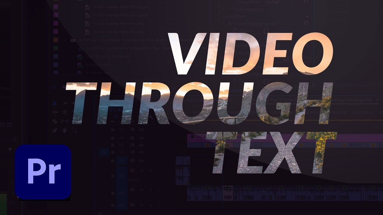 how to add text effects in premiere pro