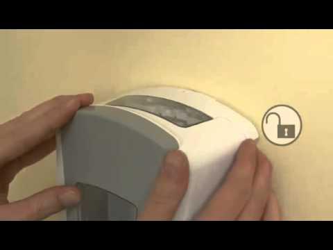 Gojo Ltx Soap Dispenser Lock And Unlock