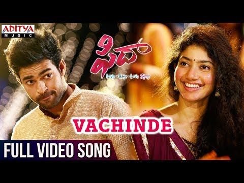 Vachinde Song Lyrics From Fidaa