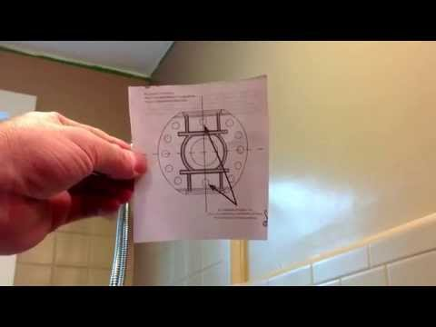 Shower Curtain Rod Installation-Curved-Easy