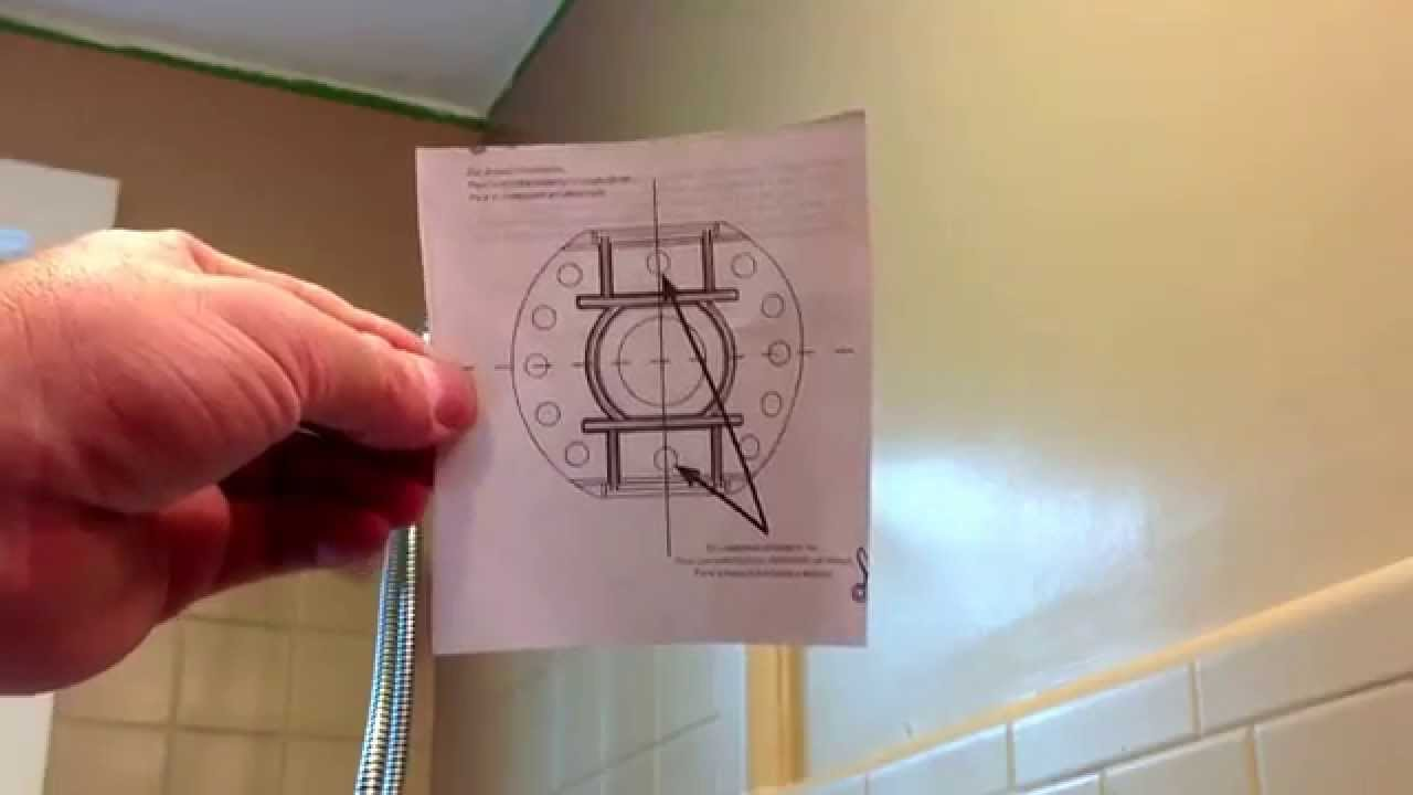 Shower Curtain Rod Installation Curved Easy