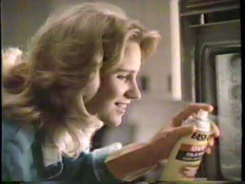 1987 Easy Off Oven Cleaner TV Commercial