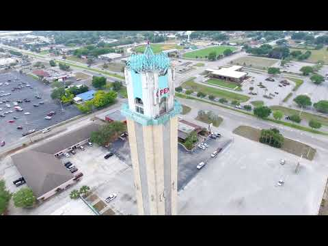 Happiness Tower - The Placid Tower - Drone View - Lake Placid FL April 2017
