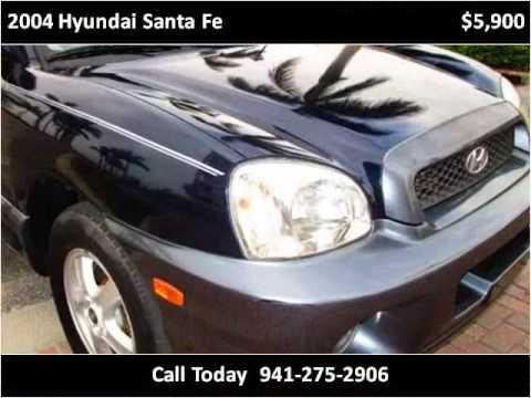 2004 hyundai santa fe used cars bradenton florida youtube for Srq motors bradenton fl